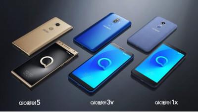 CES 2018: бренд Alcatel представил новую линейку смартфонов