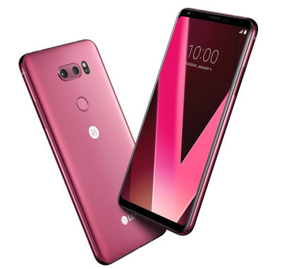 LG V30 Raspberry Rose – популярный флагман вышел в новом цвете