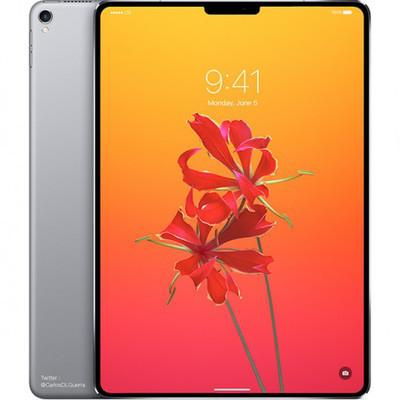 Новый iPad может получить дизайн в стилистике iPhone X