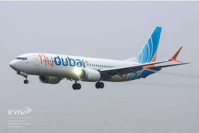 Новенький Boeing 737 MAX8 теперь во флоте авиакомпании flydubai