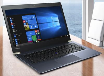 Toshiba представила новые ноутбуки Portege - X20W и X30
