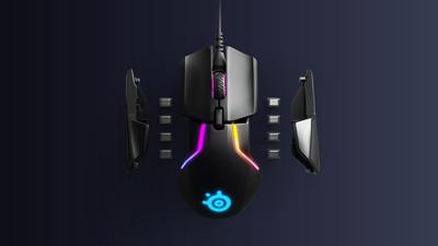SteelSeries TrueMove3+ - игровая мышь с двойной сенсорной системой
