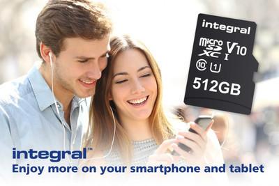 Integral Memory представила карту памяти microSD на 512 ГБ