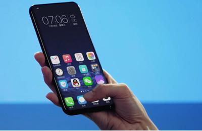 CES 2018: первый в мире смартфон с экранным сканером отпечатков пальцев