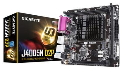 GIGABYTE выпускает материнскую плату с интегрированным Intel Pentium Silver
