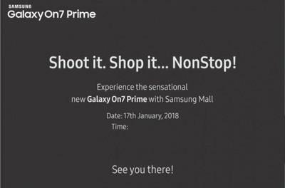 Сегодня будет представлен смартфон Samsung Galaxy On7 Prime
