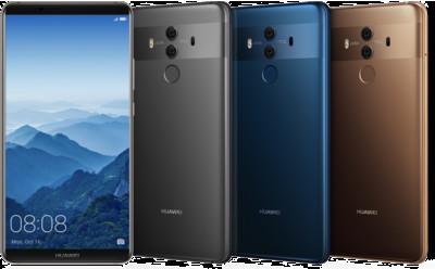 Huawei на CES 2018: компания начинает продажи Huawei Mate10 Pro в США