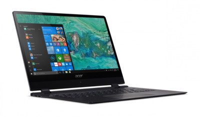 CES2018: Acer представила обновленный ноутбук Swift 7