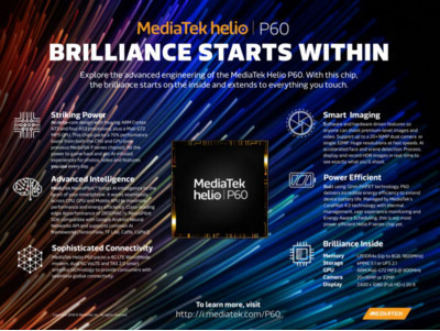 MWC 2018: состоялся анонс чипа  MediaTek Helio P60 с ИИ