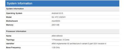 2Q5W1 – таинственный смартфон HTC на Snapdragon 625