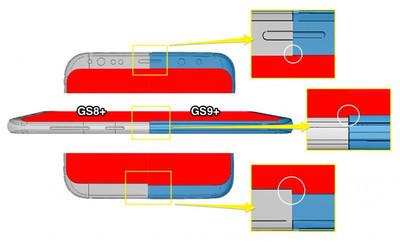 Дизайн Samsung Galaxy S9+ подтвержден фабричными чертежами