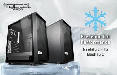 Fractal Design расширяет линейку корпусов Meshify C