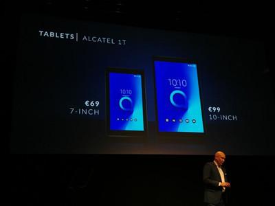 MWC 2018: Состоялся анонс бюджетного планшета Alcatel 1T
