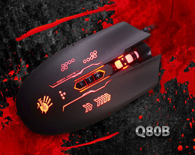 Бюджетная геймерская мышь A4Tech Bloody Q80B