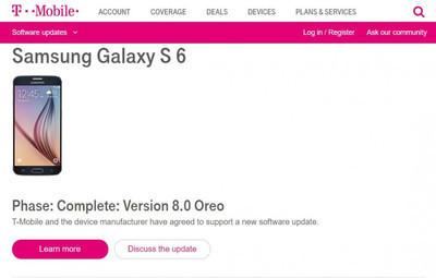 Samsung допилила релиз Android 8.0 для Galaxy S6, S6 edge, S6 edge+ и Note 5