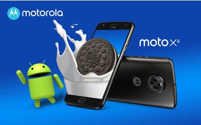 Moto X4: обновление до Android 8.0 Oreo доступно в Украине