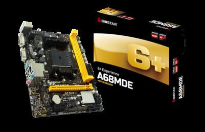 BIOSTAR представила материнскую плату начального уровня A68MDE Micro-ATX FM2+