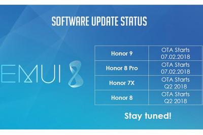 Honor 7X получит релиз Android 8.0 во втором квартале
