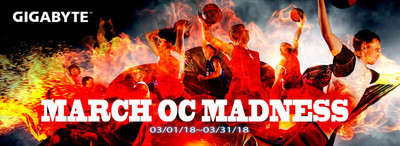 GIGABYTE анонсирует конкурс AORUS March OC Madness