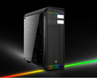 Aerocool Aero-500G RGB – компьютерный корпус со светодиодными лентами