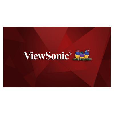 ViewSonic представляет новые 55-дюймовые коммерческие дисплеи с тонкой рамкой