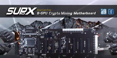 SUPoX показала профессиональную майнинговую плату B250A-BTC D+
