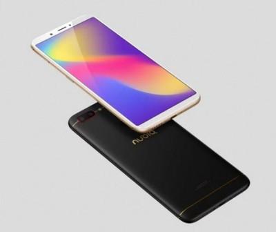 ZTE Nubia N3 – безрамочный смартфон с 8-ядерным чипом и емким аккумулятором