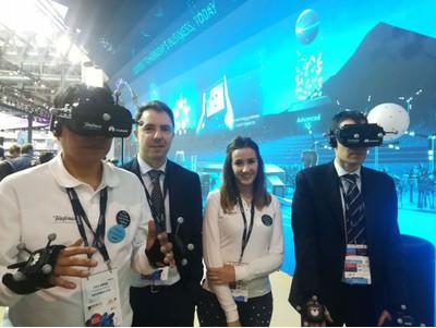 Huawei и Telefonica показали VR-сервис на базе 5G
