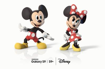 Samsung и Disney создали новые AR Emoji для Galaxy S9 и S9+