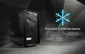 Компактный корпус Meshify C Mini – Dark TG