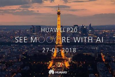 Названа стоимость смартфонов Huawei P20