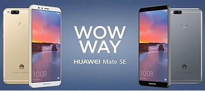 Недорогой смартфон Huawei Mate SE с двойной основной камерой и LTE