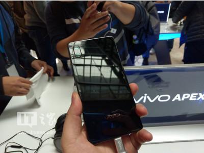 Vivo Apex – безрамочный смартфон с выдвижной фронтальной камерой