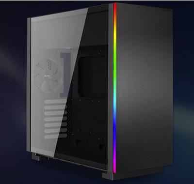 Новый корпус Aerocool GLO получил стильную RGB-подсветку