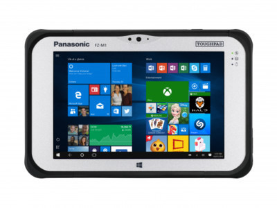 MWC 2018: Panasonic Toughpad FZ-M1 – защищенный планшет с тепловизором