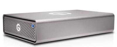 Внешний SSD-накопитель G-DRIVE Pro SSD от WD получил два порта Thunderbolt 3