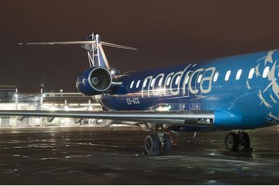 26 апреля эстонская Nordica начала полеты в аэропорт