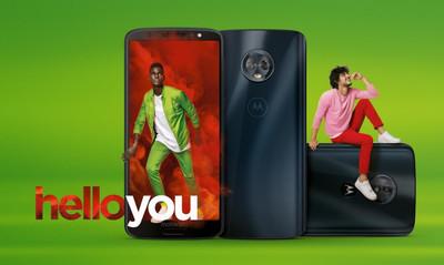 Смартфоны Moto G6, G6 Play и G6 Plus представлены официально