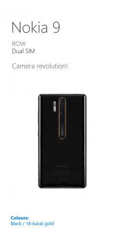 Подробности о новом флагманском смартфоне Nokia 9