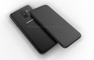 Рендерные фото смартфонов Samsung Galaxy A6 и A6 Plus