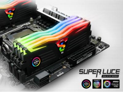 ОЗУ GeIL Super Luce RGB Sync поддерживает приложения для управления подсветкой