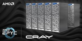 Cray впервые использует процессоры AMD EPYC в своих суперкомпьютерах
