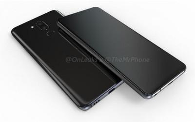 Новые рендерные фото смартфона LG G7