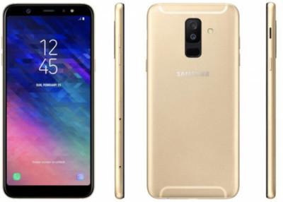 Смартфон Samsung Galaxy A6 Plus - новые рендерные фото
