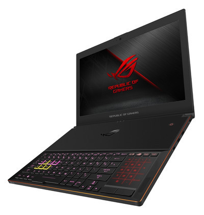 ASUS ROG Zephyrus GX501GI –  игровой ноутбук с Intel Coffee Lake-H