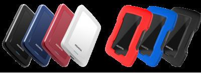 ADATA представляет внешние жесткие диски HV300 и HD330