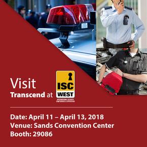 Transcend покажет новинки на ISC WEST 2018