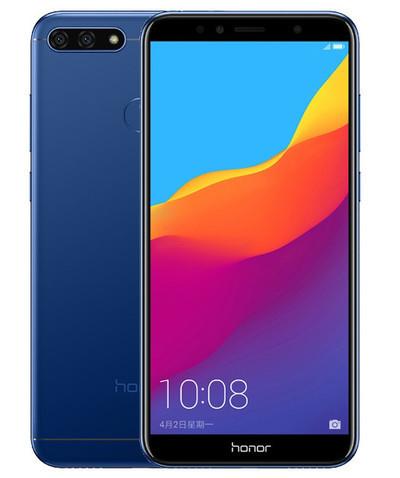 Honor 7C - бюджетный смартфон с безрамочным дизайном
