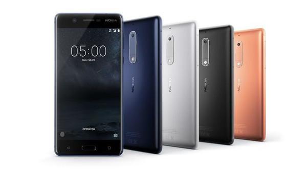 Новое поколение смартфонов Nokia 5, Nokia 3 и Nokia 2