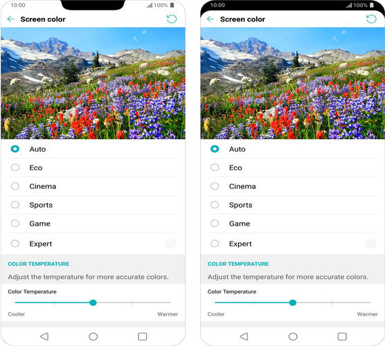 LG G7 ThinQ получил интеллектуальный дисплей
